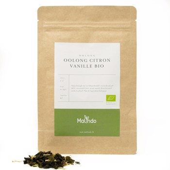 Oolong Citron Vanille Bio by Malindo