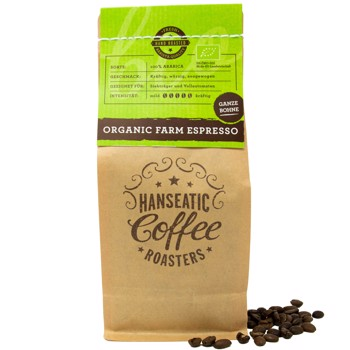 Organic Farm Espresso BIO by Hanseatic Coffee Company