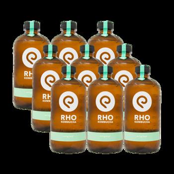 Original Bio Kombucha 9x bottiglie 480ml by RHO KOMBUCHA