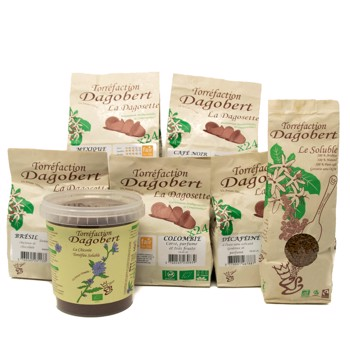 DagoPack : Dagosettes (5x24), Chicorée, Soluble by Les Cafés Dagobert