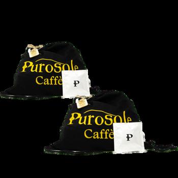 Il Caffè del Sole - 44 mm - Per tutte le macchine del caffè in cialde (x30) by PuroSole