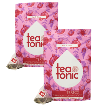 Teatox Superfruit Morning Boost 28 jours by Teatonic