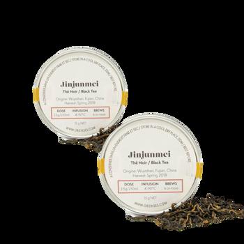 Schwarzer Tee : Jinjunmei by Orienses