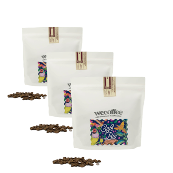BIO - Colombia - Pack 3 × Chicchi Bustina 250 g