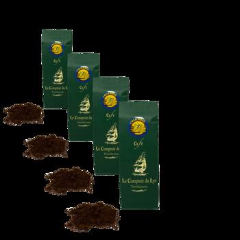 Colombie - Pack 4 × Moulu Espresso Pochette 250 g