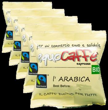 Arabica - dosettes (x50) by EquoCaffè