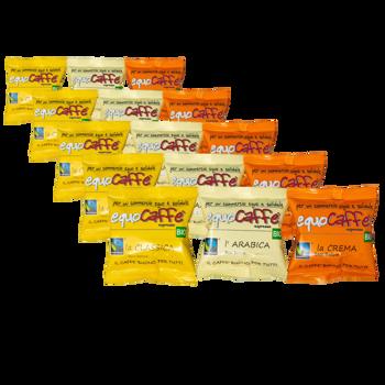 Pack découverte - dosettes (x50) by EquoCaffè