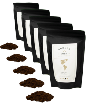 Costa Rica Tarrazu La Pastora - Pack 5 × Moulu Espresso Pochette 250 g