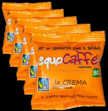 Crème - dosettes (x50) by EquoCaffè
