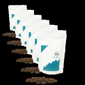 Café de spécialité du Burundi Kibingo - Pack 6 × Grains Pochette 250 g