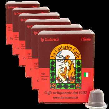 Miscela Italiano Rosso - Compatibili Nespresso (x10)  by La Costarica Caffè