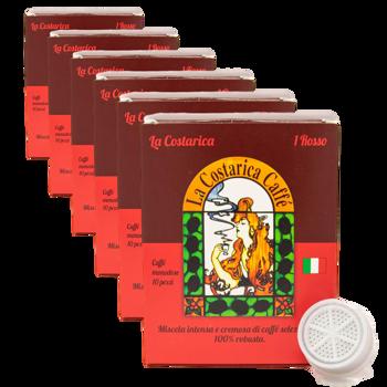 Miscela Italiano Rosso - FAP (x10) by La Costarica Caffè