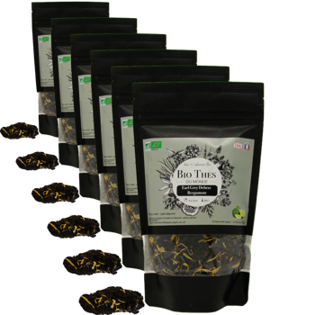 Earl grey deluxe - Pack 6 × Bustina 90 g