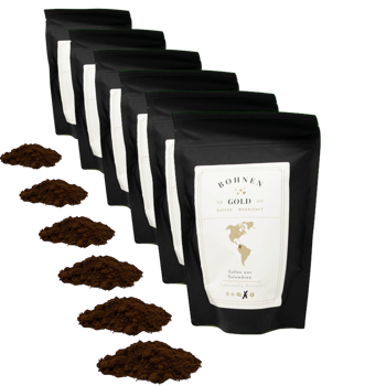 Colombie Excelso Huila - Pack 6 × Moulu Espresso Pochette 250 g