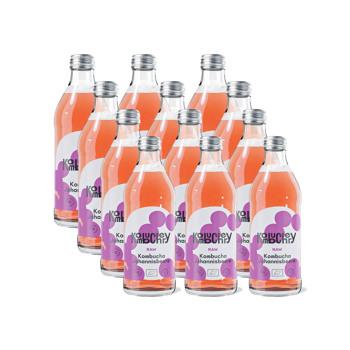 Raw Currant Bio-Kombucha 12x bouteilles 330ml by Kombuchery
