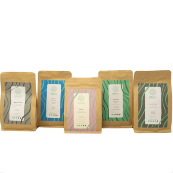 Sample Package by Concrete Coffee Roasters
