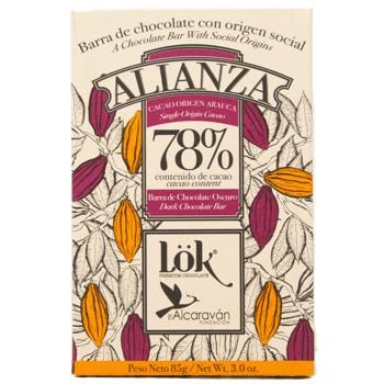Chocolat 78% ALIANZA Single Origin Arauca (x3) by LÖK FOODS