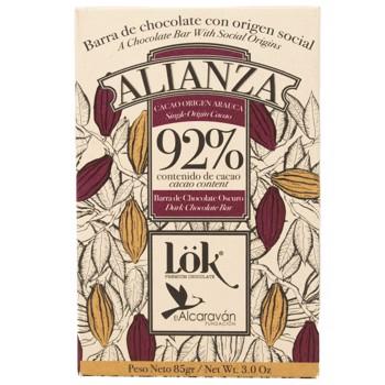 Chocolat 92% ALIANZA Single Origin Arauca (x3) by LÖK FOODS