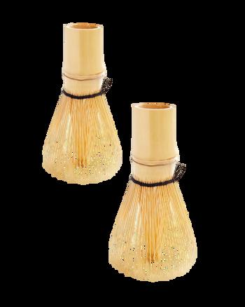 Frusta Matcha in bambù - Pack 2 ×