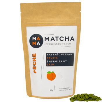 Pfirsich-Matcha Tee by Mama Matcha