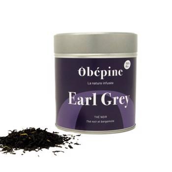 Thé noir Earl Grey by Obépine