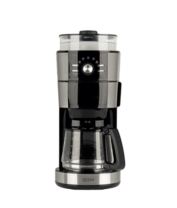 Machine à café filtre avec moulin BEEM - 1, 25 l - Fresh Aroma Intense -