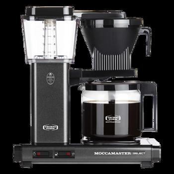Cafetière à filtre électrique Moccamaster - 1,25 l - KBG Anthracite -