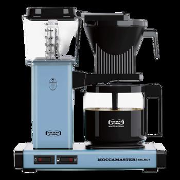 Cafetière à filtre électrique Moccamaster - 1,25 l - KBG Bleu Pastel -