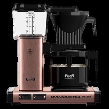 Cafetière à filtre électrique Moccamaster - 1,25 l - KBG Cuivre -