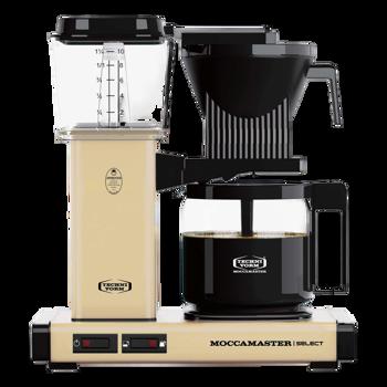 Cafetière à filtre électrique Moccamaster - 1,25 l - KBG Jaune Pastel -