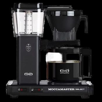 Cafetière à filtre électrique Moccamaster - 1,25 l - KBG Noir Mat -
