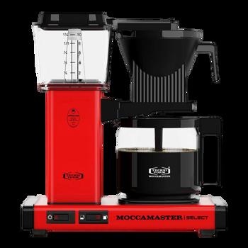Cafetière à filtre électrique Moccamaster - 1,25 l - KBG Rouge -
