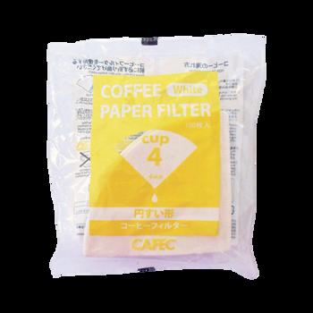 Cafec - filtre traditionnel 4 tasses - 100 pièces -