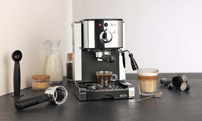 Quatrième image du produit Machine Espresso BEEM - 1,25 l - Espresso Perfect - 20 bar by BEEM