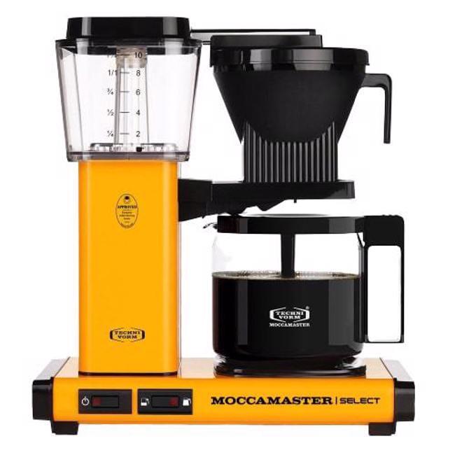 Cafetière à filtre électrique Moccamaster - 1,25 l - KBG Jaune by Moccamaster