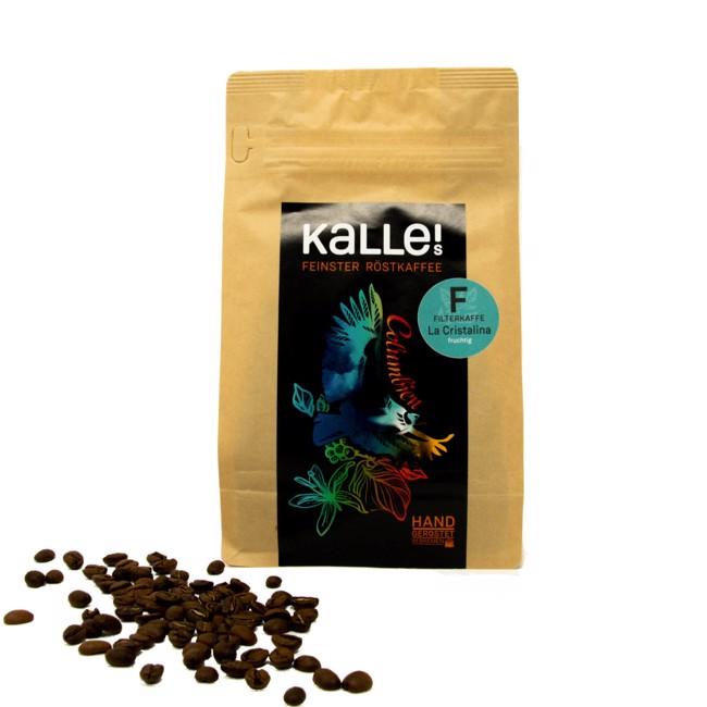 La Cristalina - Quimbaya Kolumbien Filterkaffee by Kalles Feinster Röstkaffee