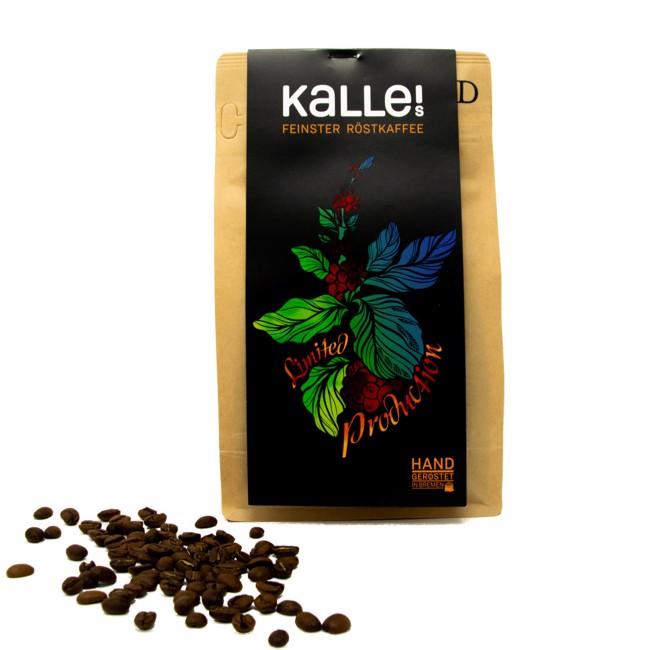 "Limited Production ""E"" Kenia Filterkaffee by Kalles Feinster Röstkaffee"