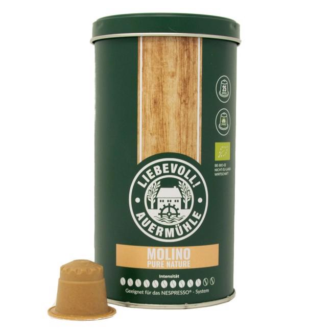 Capsules en bois Molino, Compatibles Nespresso (x25) by Liebevoll!