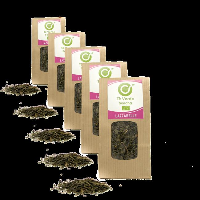 Tè verde Bio Sencha by Torrefazione Lazzarelle